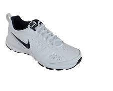NIKE  T Lite XL Black or White Mens 6-12  Swoosh leather Classic Casual