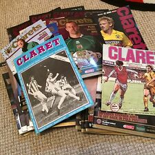 "BURNLEY  FC  HOME MATCH PROGRAMMES  "" YOUR CHOICE """