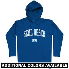 Seal Beach California Hoodie - Hoody Men S-3XL - Gift Orange County Pier Surfing