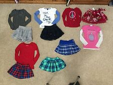 JUSTICE GIRLS GAP KIDS SHIRTS, SKIRTS OUTFITS   SIZE 6/7 & 7