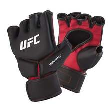 UFC MMA Competition Weighted MMA Gloves - Black