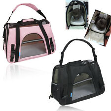 Pet Cat Dog Carrier Soft Sided Large Comfort Travel Bag Pad Airline Approved New