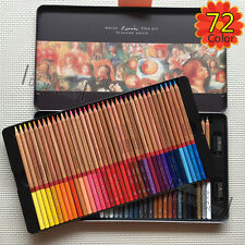 Marco Art Drawing Artist Oil Base Non-Toxic Sketch Pencils Box 72 Color