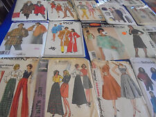 U PICK SEWING PATTERNS PONCHO DRESS DOLMAN TOP PANTS MENS WOMENS SCRUBS