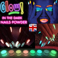 WHOLESALE 1.6KG or 4KG GLOW IN THE DARK POWDER LUMINESCENT NAIL PAINTING PIGMENT