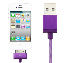 USB Sync Data Charging Charger Cable 30PIN 3.3 ft for iPhone 4 4S Apple iPod