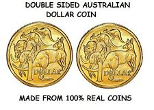 DOUBLE SIDED AUSTRALIAN DOLLAR COIN - SAME SIDE COIN - AUSTRALIAN DOLLAR COIN