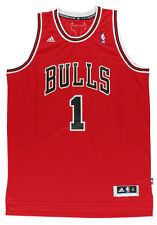 Adidas Mens Chicago Bulls NBA Derrick Rose Swingman Jersey Red