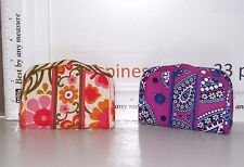 VERA BRADLEY MAGNETIC BI-FOLD BUSINESS CARD CASE CHOICE OF ONE NWOT