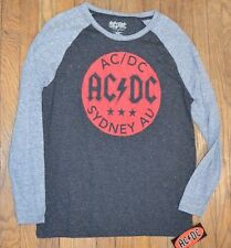 ACDC AC DC Sydney Australia  Men's Long Sleeve T-Shirt Officially Licensed Tee