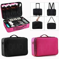 Extra Large Beauty Make Up Nail Tech Cosmetic Box Artist Vanity Case Storage Bag