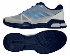 Adidas Tennis Barricade Club White Blue - Tennis Shoes - BA9153