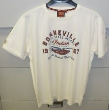 Men's Indian Motorcycle Heritage Munro Bonneville Short Sleeve Tee - NWT (SMALL)