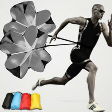 "56"" Speed Resistance Parachute Chute Football Running Exercise Training 4 Colors"