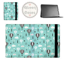 Teal Balloon Sky Flip Folio Case - fits iPad Air Mini Samsung Galaxy