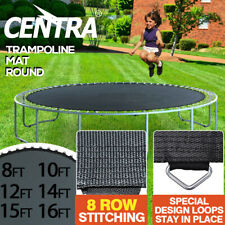 Replacement Trampoline Mat Round Outdoor Spring Spare 8/10/12/14/16FT
