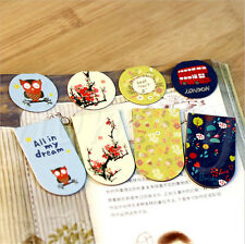 3 Style Beautiful Magnetic Bookmarks Note Memo Stationery Book Mark Bookworm