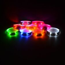 3 Styles New Fashion Party Light Up LED Glow Activated Sport Wristband Bracelet