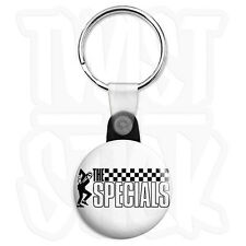The Specials - Dancing Rude Boy 25mm Ska Keyring Button Badge, Zip Pull Option