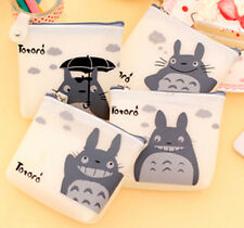 New Totoro Zip Coin Purse childrens 4 designs party bags GS79e
