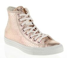 NEW CONVERSE CHUCK TAYLOR ROSE GOLD LEATHER 542437c