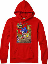 Sonic Hoodie,Sonic The HedgeHog running,Dr Eggman,Adult and kids Sizes