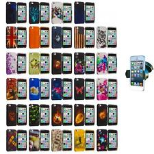 For Apple iPhone 5C Hard Snap-On Design Rubberized Case Cover+Car Mount