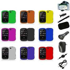 For Sprint Kyocera Milano C5120 Color Hard Snap-On Skin Case Cover+8X Accessory