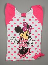 NWT Disney Minnie Mouse Cap Sleeve Top Shirt Size 5