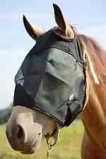 Horse Fly Mask No WITHOUT EARS NOSE Trail Pasture Sun Protection ALL SIZES