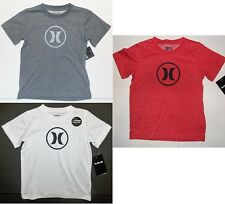 Hurley Boys T-Shirts with Nike Dri Fit Black or Gray Sizes 4, 5, 6 or 7 NWT