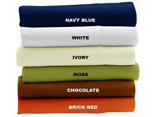 1000TC 100%EGYPTIAN COTTON HOME BEDDING COLLECTION US SIZES SOFT SOLID COLORS
