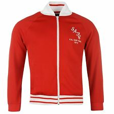 Sunderland AFC Retro FA Cup Final 1973 Track Jacket Mens Red/White EPL Football