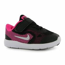 Nike Revolution 3 Trainers Infants Black/Silv/Pink Baby Sneakers Shoes Footwear