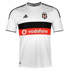 Adidas Besiktas JK Home Jersey 2014 2015 Mens Black/White Football Soccer Club