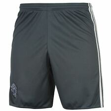Adidas Manchester United FC Third Shorts 2016 2017 Mens Onix Football Soccer