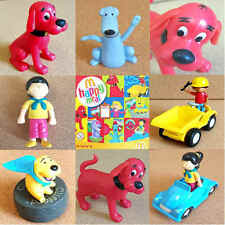 McDonalds Happy Meal Toy 2004 CLIFFORD Big Red Dog Plastic Character - VARIOUS