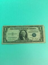 Series1935 D One  dollar bill US CURRENCY