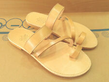 New Ancient Greek Style Roman Leather Handmade Sandals Shoes Womens Flip Flops