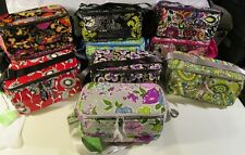 VERA BRADLEY Cooler Insulated Lunch Snack Bag Travel Work Retired Patterns