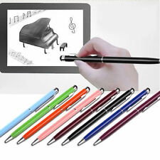 Useful 2 in1 Capacitive Touch Screen Stylus/Ball Point Pen for iPad iPhone iPod