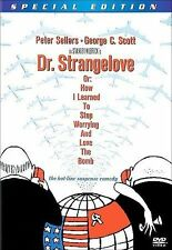 Dr. Strangelove or: How I Learned to Stop Worrying and Love the Bomb DVD