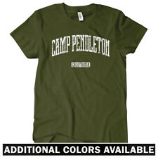 Camp Pendleton California Women's T-shirt S-2X Gift Marines Corps USMC San Diego