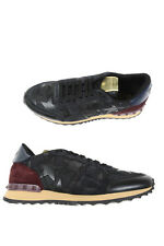 Valentino Shoes Sneaker % Leather MADE IN ITALY Man Blues LY0S0723ANC-0NO