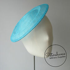 24cm Large Sinamay Saucer Fascinator Hat Base
