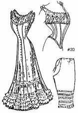 """A Collection of Under Garments Sewing Pattern for a 24""""  Doll Lady Doll 20-24"""