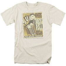 Sun Records ROCK N ROLL BEGAN POSTER Licensed Adult T-Shirt All Sizes