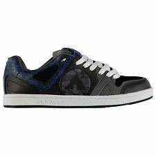 Airwalk Titan Skate Shoes Mens Black/Grey/Blue Trainers Sneakers Footwear