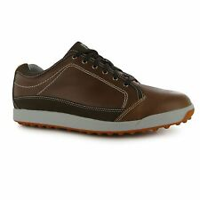 Footjoy Contour Casual Golf Shoes Mens Brown Trainers Sneakers Sports Footwear