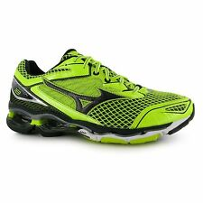 Mizuno Wave Creation 18 Running Shoes Mens Yel/Blk Trainers Sneakers Sports Shoe